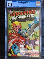 JUSTICE LEAGUE OF AMERICA #50 CGC NM 9.4; OW-W; gogo check cover!