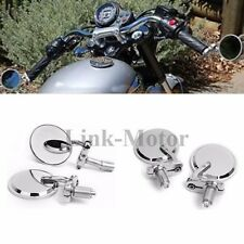 Chrome Motorcycle 22mm Bar End Mirrors for Moto Guzzi Streetfighter & Cafe Racer