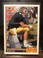 1991 Upper Deck Football Brett Favre ROOKIE RC #13 Mint