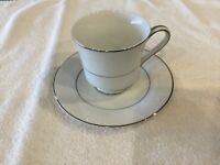 FINE CHINA SOCIETY Empress Footed Cup and Saucer Set, Pattern 5135B