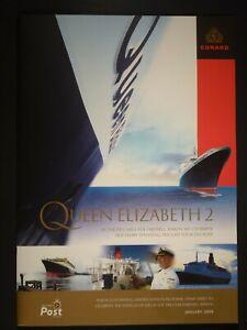 ISLE OF MAN - 2008 CUNARD QUEEN ELIZABETH II LIMITED EDITION FOLDER CAT. £50.