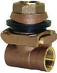PA125NL Pitless Adapter, Brass, 1-1/4-In. - Quantity 1