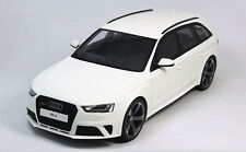 GT Spirit 1:18 AUDI  RS4 Avant B8 Die Cast Model White