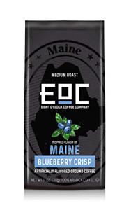 Eight O'Clock Coffee Flavors of America Ground Coffee, Maine Blueberry Crisp, 11