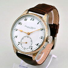 IWC Probus Scafusia Schaffhausen Hand-Engraved movement cal.53 Pocket Watch 1915