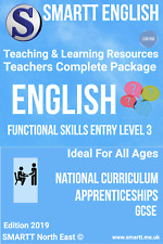 Functional Skills Entry 3 English Teaching & Learning Resources Complete Package