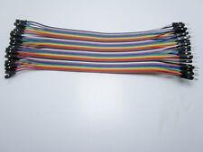 40 Ponticelli 20 cm maschio-femmina cavetti cavi cavetti flessibili per arduino