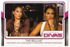 2017 Topps WWE Wrestling Total Divas #4 The Bellas
