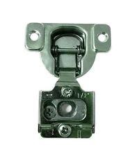 "20 Pcs - 6 Way Adjustment 1/2"" Overlay Face Frame Concealed Cabinet Door Hinges"