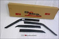 BMW E30 1982-1994 4 DOOR WEATHER SHIELD WEATHERSHIELD WINDOW DOOR VISOR GUARD