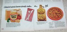 1983 advert - Kraft Cheez Whiz cheese SLOPPY JOE PIZZA recipe yummy!! PRINT AD