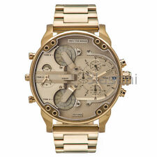 Diesel Original DZ7399 Mr. Daddy 2.0 Gold Stainless Steel Chrono Watch 57mmx66mm
