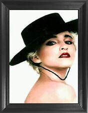 """Madonna Framed 3D Lenticular Picture - 14.5x18.5"""" - Unbelievable Life Like Fr."""