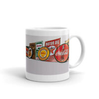 Old Tin Sign Signs Coffee Mug