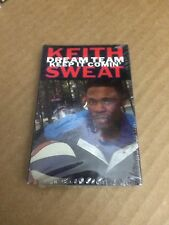 KEITH SWEAT DREAM TEAM KEEP IT COMIN' FACTORY SEALED CASSETTE SINGLE 9