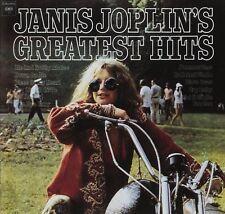 Janis Joplin Greatest Hits CD NEW SEALED Me & Bobby McGhee/Piece Of My Heart+