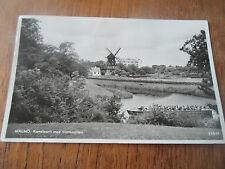 Vintage Postcard MALMO Kanalparti Med Slottsmollan 38849 Sweden (With Windmill)