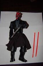 "Darth Maul Electronic 12"" Figure-Hasbro-Star Wars 1/6 Scale Customize Side Show"