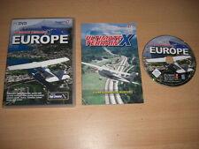ULTIMATE TERRAIN X EUROPE Pc DVD Add-On Microsoft Flight Simulator Sim X FSX