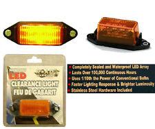 Amber Submersible Clearance Light,Boat/Cargo Trailer 6 LED Light Bulb Lamp,New