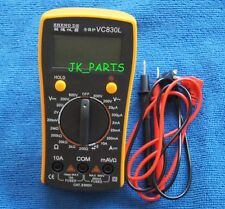New VC830L LCD Display Digital Multimeter Volt Amp Ohm Meter Tester Tool