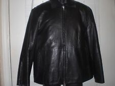Genuine HUGO BOSS  Leather Jacket size L