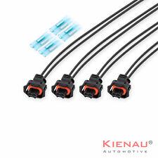4x Injector Repair Kit 93189918 Wiring Loom & Plug Vauxhall Fiat Saab 1.9 Diesel