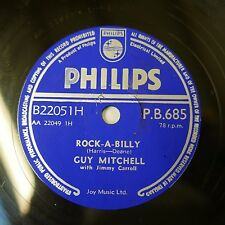 78rpm GUY MITCHELL rock - a - billy / got a feeling