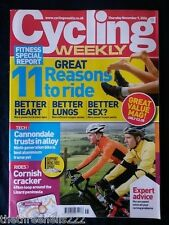 CYCLING WEEKLY - RIDE FOR BETTER SEX - NOV 9 2006