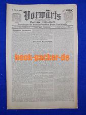 VORWÄRTS (6. Oktober 1916): Vom inneren Kriegsschauplatz