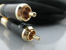 choseal AB5408 T1D5 OD10mm 1.5m Audiophile hifi OCC audio Cable 1pair