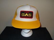VTG-Dupont Gas Booster oil mesh snapback trucker hat-1980s surf beach(sku#5)