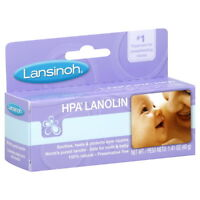 LANSINOH LANOLIN  FOR BREASTFEEDING MOTHERS HEALS CRACKED NIPPLES