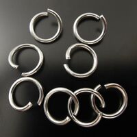 5*5*1mm  Stainless Steel Round Jump Rings Jewelry Craft Findings 200pcs