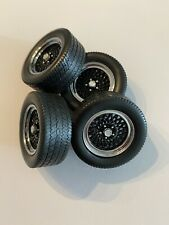 Set Of Wheels & Tires 1/18 Scale