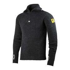 Snickers 2905 Comfortable Half Zip Wool Sweater Anthracite Melange XL