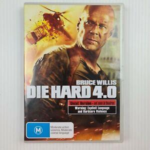 Die Hard 4.0 DVD - Bruce Willis - Region 4 - PAL - TRACKED POSTAGE