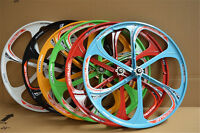 "26"" MTB Mountain Bike Mag Wheel Set Wheelset Rims Disc Brake 8/9/10 Speed Gear"