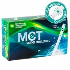 Tubes cigarettes menthol - MCT - Menthol Capsule Tubes