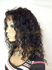 Curly Wavy GLUE LESS, FULL LACE WIG, 100% HUMAN HAIR, IN STOCK!!