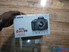 Canon EOS Rebel T6 DSLR Camera with 18-55mm Lens. Brand New.