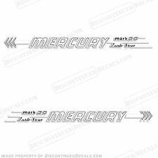 Mercury 1956 30hp Hors-Bord Décalque Kit - Reproduction Stickers en Stock