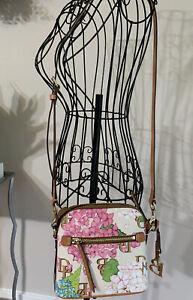 Dooney & Bourke - Doomed Satchel  Hydrangea Floral Crossbody. - NWT$198