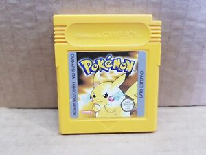 Pokemon Versione GIALLA - ORIGINALE ITA - CONDIZ. PERFETTA GBA GAME BOY COLOR SP