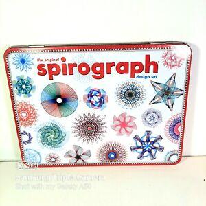 The Original Spirograph Design Set In Tin Box By Hasbro 2014