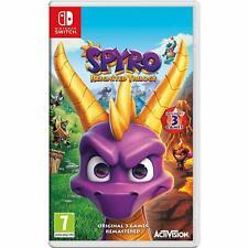 Spyro reaviva trilogía Importado Región libre inglés-Nintendo Switch