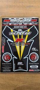 MOTOGRAFIX GSXR 1000 FACTORY RACING TANK PAD NEW