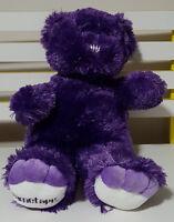 PURPLE DIMETAPP TEDDY BEAR PLUSH TOY SOFT TOY 40CM TALL WILBE BETTER BEAR!