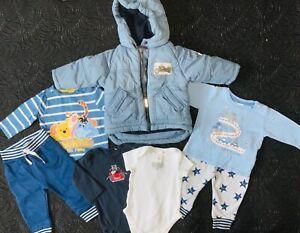 BabyKleidung PaketGr.62/68 Junge Marken Bekleidung Jacke Sanetta