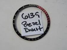 - 6139 SEIKO Diver BLACK BEZEL Insert (also fits Diver 6309 7002) NEW